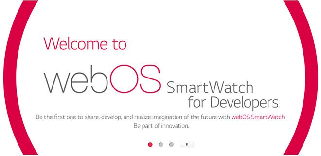 LG webOS Watch SDK #1